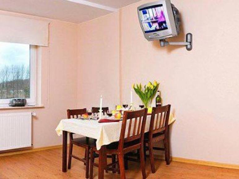 Pokój dzienny w apartamenie 2-pokojowym