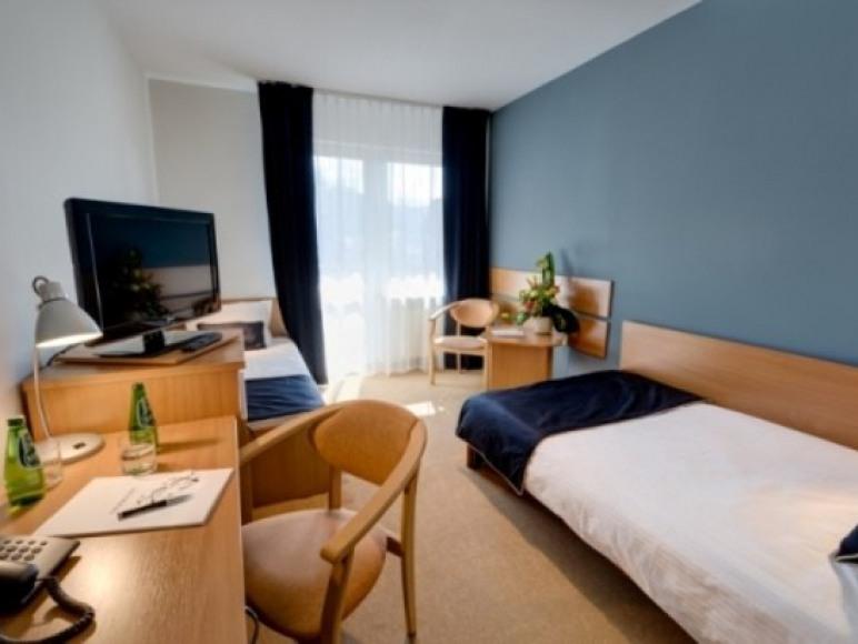 Pokój Hotelu Nawigator w Szczawnicy
