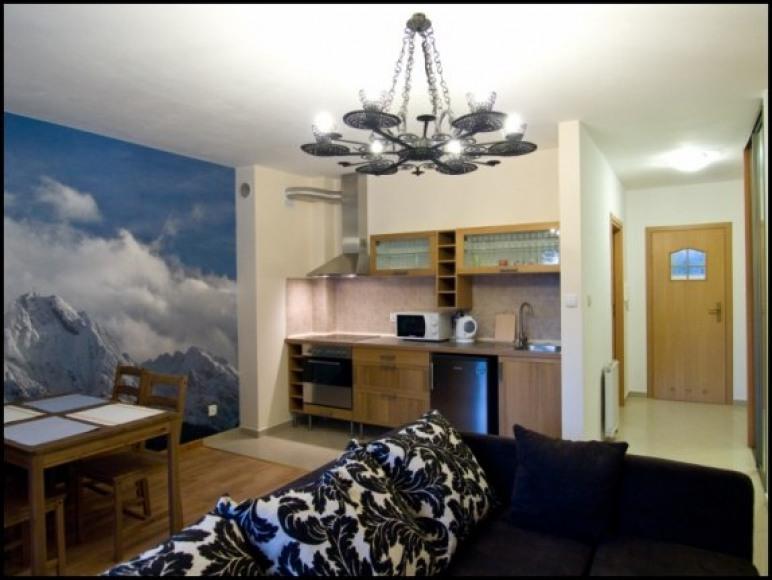 Apartament Wiater Halny salon