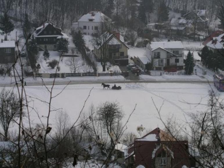 Zimą w Kazimierzu