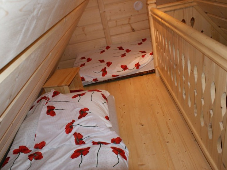 antresola pokoju 2 (dwa miejsca do spania)