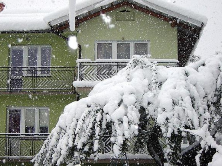 dom - zima