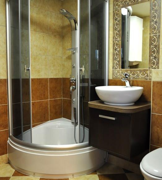 łazienka - pokoje gościnne