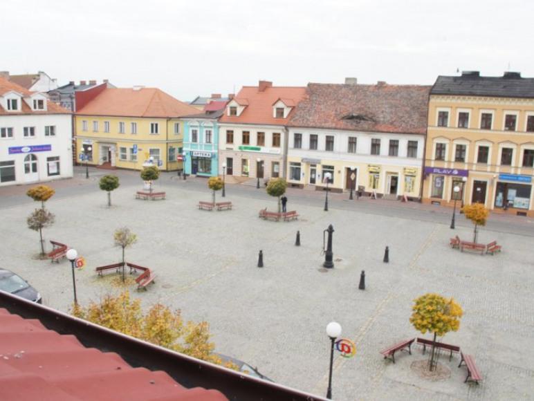 widok Rynku z okna