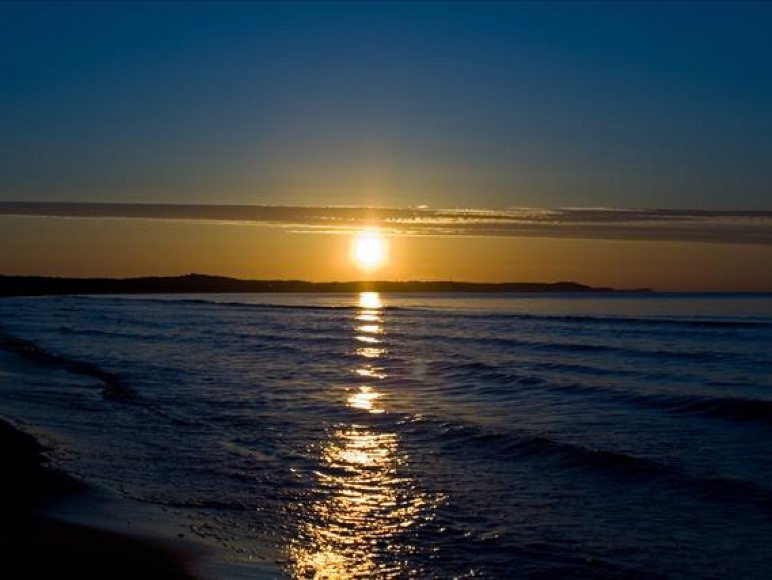 Zachód słońca latem