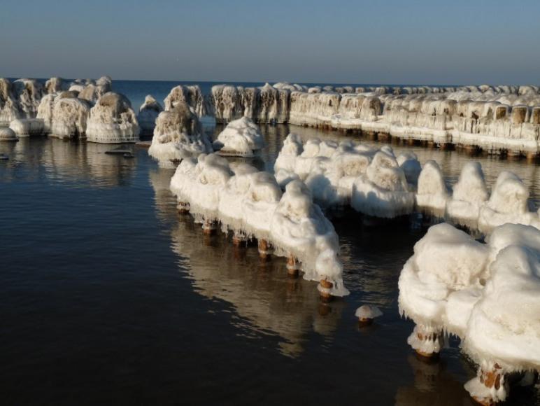 Morze zimą