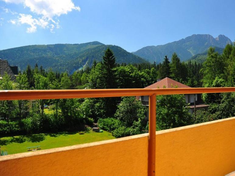 widok z naszych balkonów