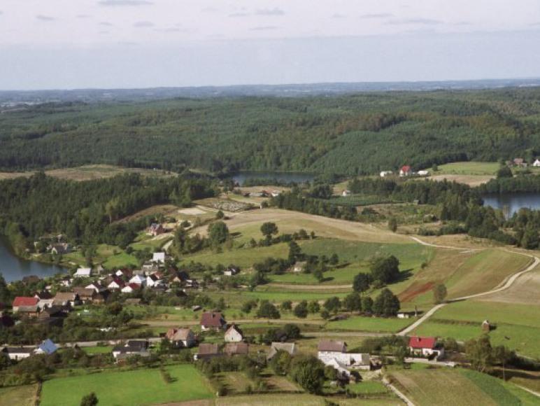Rekowo - widok na wieś