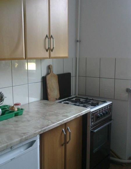 Parter- Kuchnia 1 (wspólna dla pokojów nr 1 i nr 2)