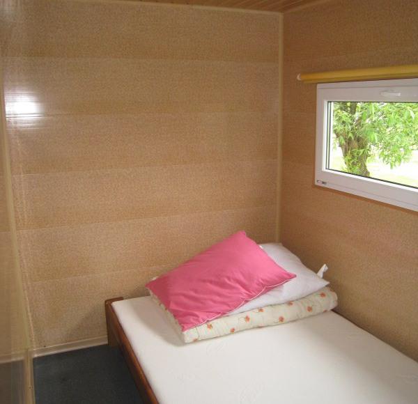 Sypialnia,domek posiada 2 sypialnie