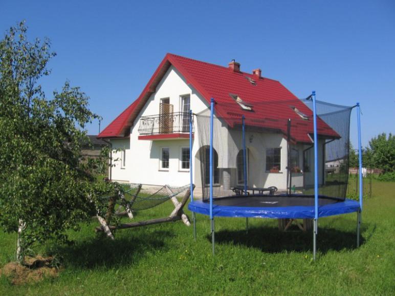 Ogrod trampolina , hamaki,hustawka