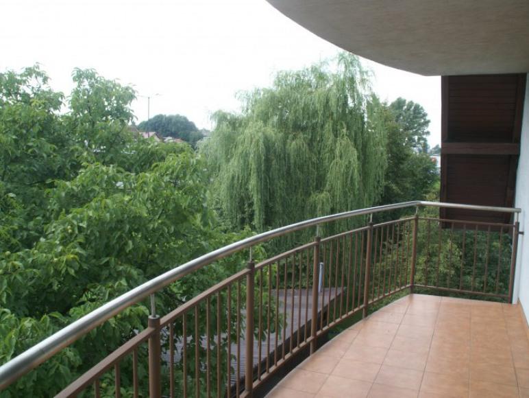 Balkon w jednym z pokojów