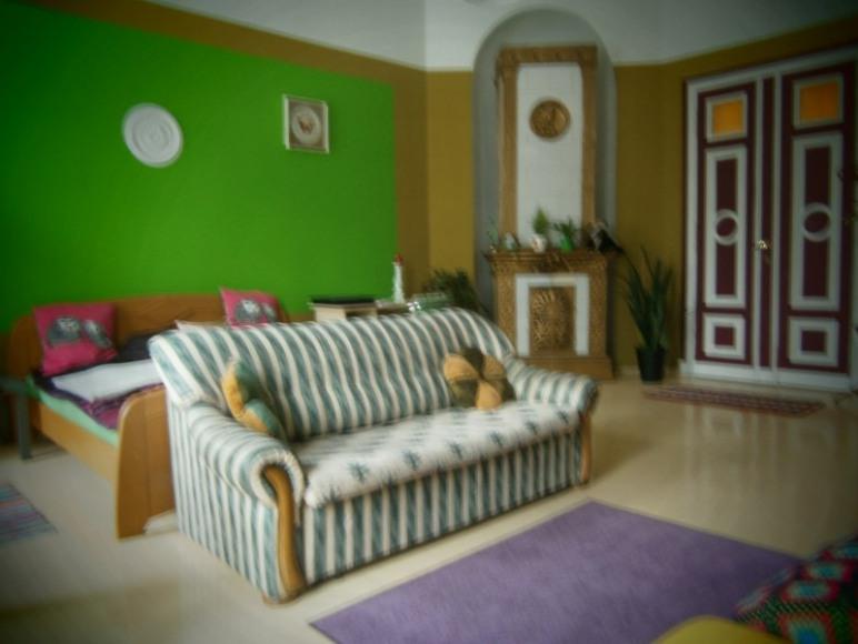Pokój z łazienką w Hostelu Fraszka