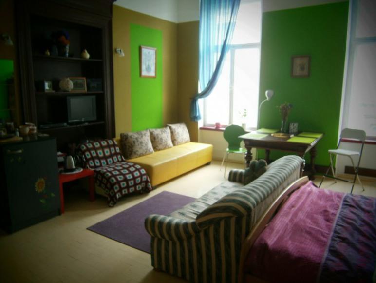 Pokój z łazienką w Hostelu we Wrocławiu