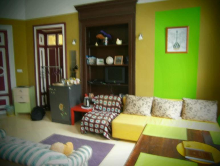 Pokój z łazienką w Hostelu Fraszka we Wrocławiu