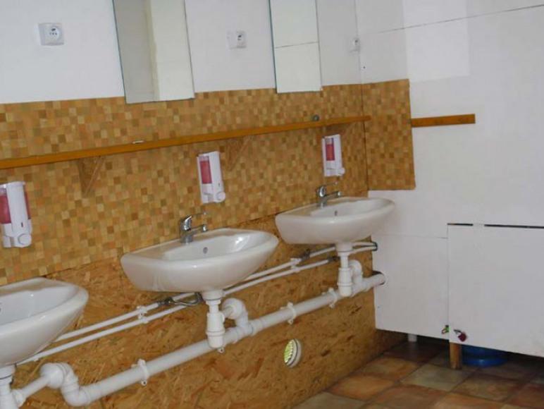 Toalety/prysznice