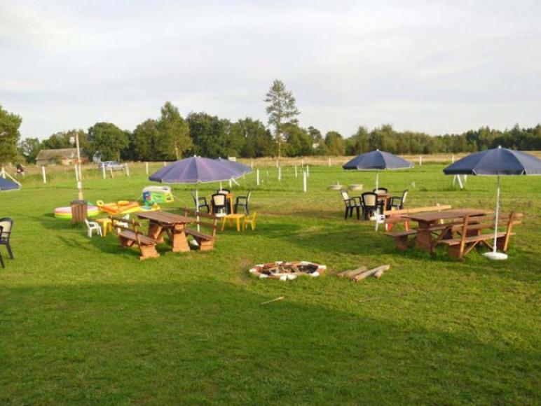 camping/pole namiotowe