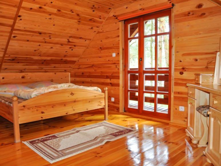 sypialnia I w domkach