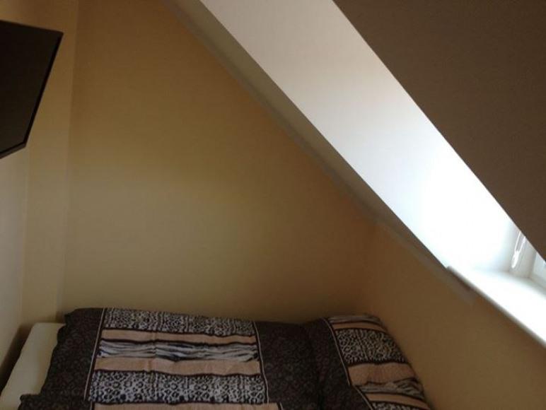 Apartament z podwójnym łóżkiem.