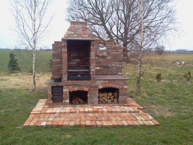 Kuchnia , grill, wedzarnia