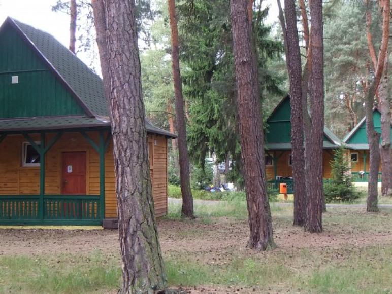 Domki typu Chatka - 6osobowe, z pełnym węzłem sanitarnym, remontowane 2012