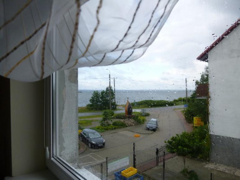 widok z okna na zatoke