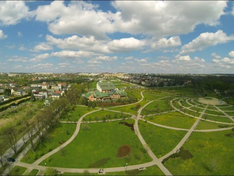 Park z lotu ptaka