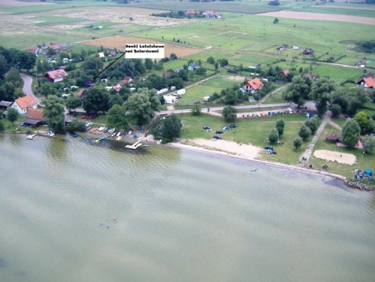Domki letniskowe w Nowych Gutach nad Śniardwami