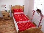 Sypialnia w apartamencie 2-wu osobowym.