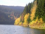 jezioro 200m od pensjonatu