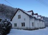 Karkonoski Domek widok zimą