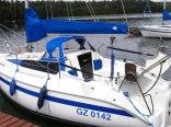 Jacht w Borsku