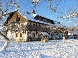początek zimy w Osadzie Jeździeckiej BATA