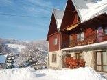 Chata u Bożeny zimą