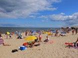 Na plaży w Stegnie