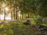 Park w Pucku-ścieżka rowerowa