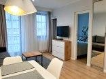 Apartament Eli - Widok z salonu na sypialnię