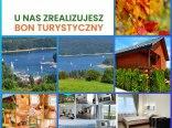 Domki i pokoje na punkcie widokowym w Polańczyku