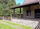 Domek Letniskowy z sauna nad jeziorem