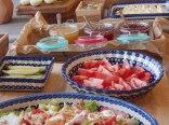 Nasz szwedzki stół, by nikt nie wyszedł z Willi Dąbrówka głodny.