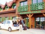 Mazurska Chata , kameralny obiekt położony w cichym miejscu, wśró natury,