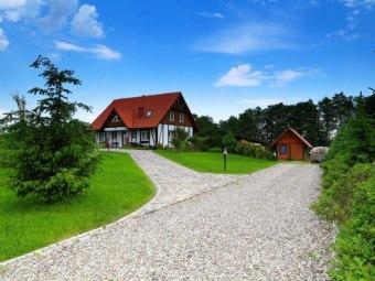 Dom nad jeziorem Bełdany K/Mikołajek