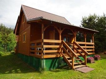Drewniany Domek Letniskowy Olpuch Kaszuby