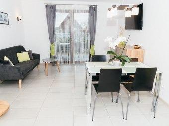 Domki, apartamenty