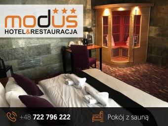 Hotel Modus - Restauracja , Sauny