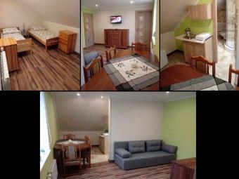 Apartamenty nad Potokiem wolne od 7 do 17.08