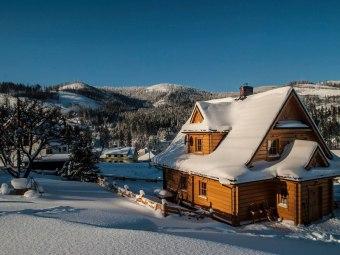 Domki w górach Beskidach - Chatka Pod Laskiem