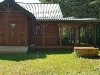 Domek nad jeziorem Siemianówka