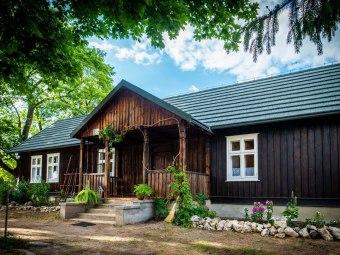 Zagroda Pod Klonami & Domek drewniany