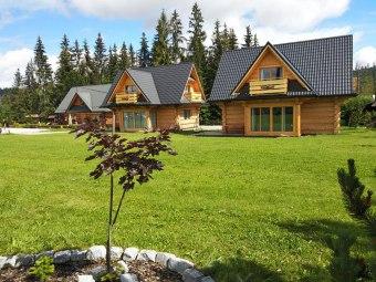 Domki góralskie Toporówka 4-11os - wysoki standard
